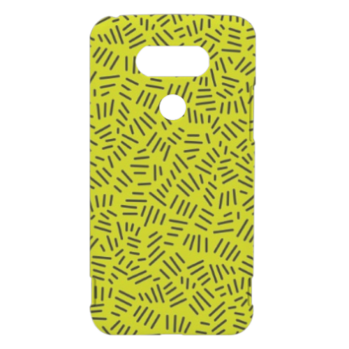 Texture with stripe Cover LG G5 3D