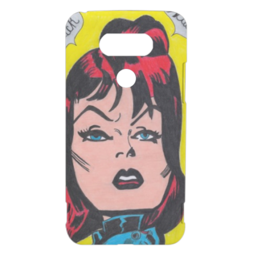 BLACK WIDOW Cover LG G5 3D