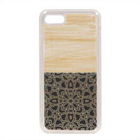 Bamboo Gothic Cover in silicone iPhone 7