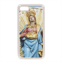 Madonna del Suffragio Cover in silicone iPhone 7