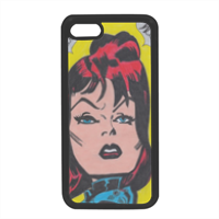 BLACK WIDOW Cover in silicone iPhone 7