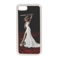 Sposa Arte Grafica Cover in silicone iPhone 7