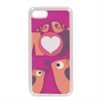 Mamma I Love You Cover in silicone iPhone 7