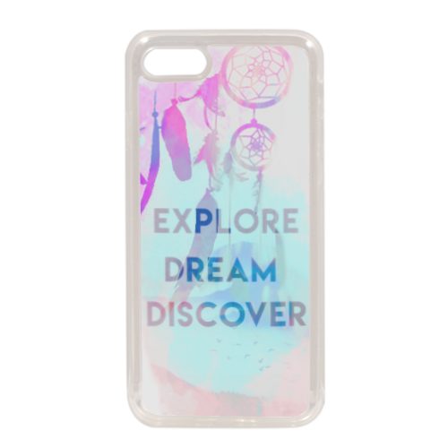 dreamcatcher Cover in silicone iPhone 7