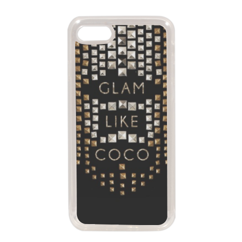 Glam Like Coco Cover in silicone iPhone 7