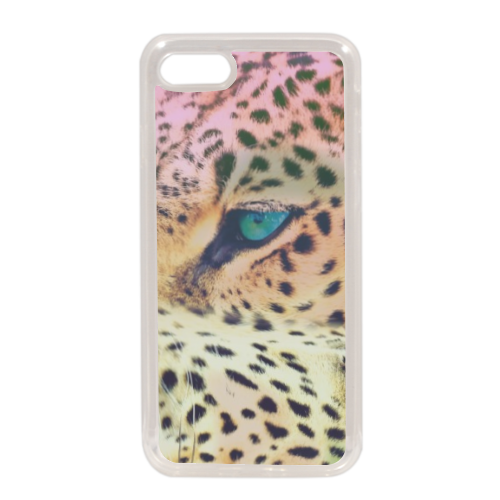 Leopard Cover in silicone iPhone 7