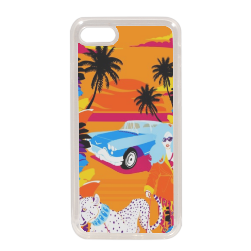 Rich Summer  Cover in silicone iPhone 7