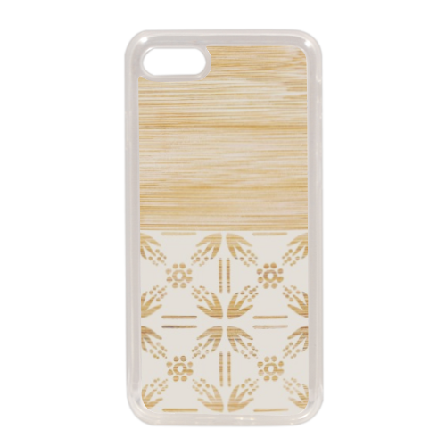 Bamboo and Japan Cover in silicone iPhone 7