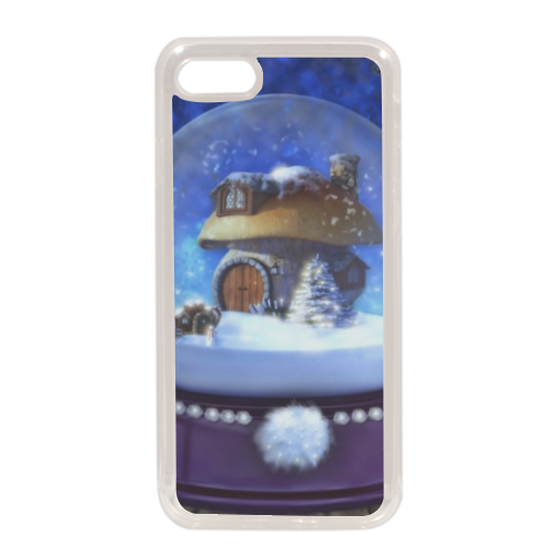 Globo di Neve Fantasy Cover in silicone iPhone 7