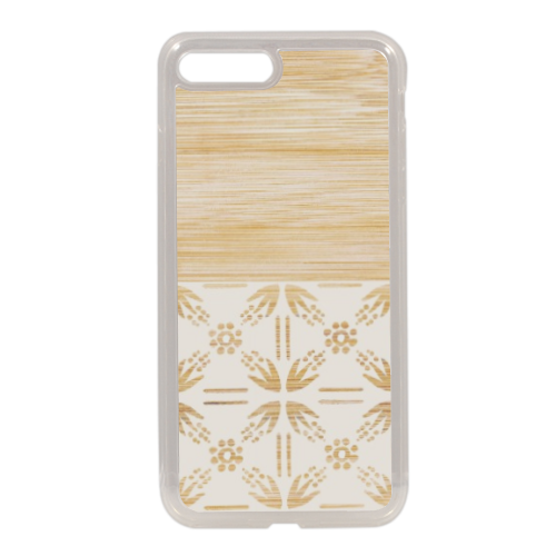 Bamboo and Japan Cover in silicone iPhone 7 Plus