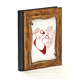 Sharing the same heart Album Fotografico Legno Gold