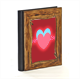 hearts in love Album Fotografico Legno Gold