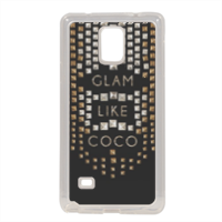 Glam Like Coco Cover in silicone Samsung Note 4