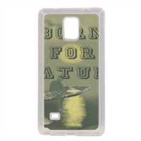 Born for Nature Cover in silicone Samsung Note 4