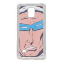 CAPITAN GELO Cover in silicone Samsung Note 4