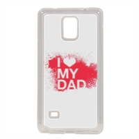 I Love My Dad - Cover in silicone Samsung Note 4