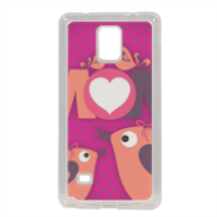 Mamma I Love You - Cover in silicone Samsung Note 4