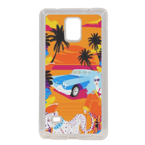 Rich Summer  Cover in silicone Samsung Note 4