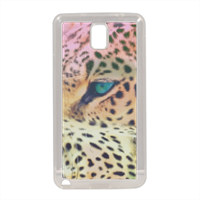 Leopard Cover in silicone Samsung Note 3