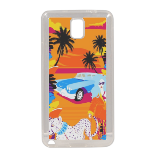Rich Summer  Cover in silicone Samsung Note 3