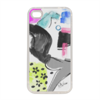 Glamour Cover in silicone iPhone 4-4s