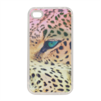 Leopard Cover in silicone iPhone 4-4s