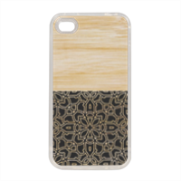 Bamboo Gothic Cover in silicone iPhone 4-4s