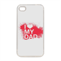I Love My Dad - Cover in silicone iPhone 4-4s
