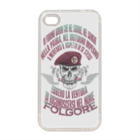 Come Folgore dal cielo Cover in silicone iPhone 4-4s