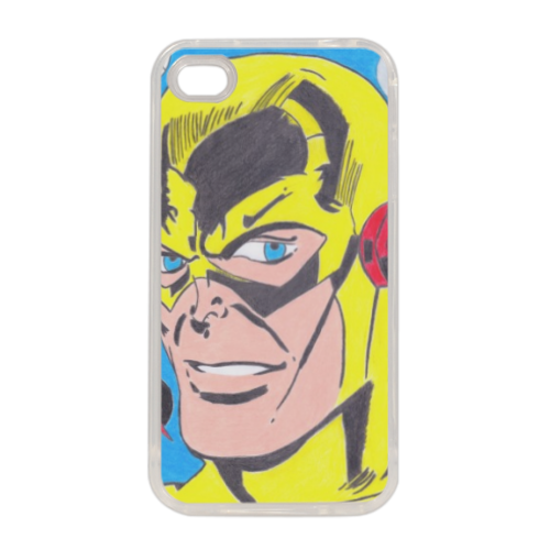 PROFESSOR ZOOM Cover in silicone iPhone 4-4s