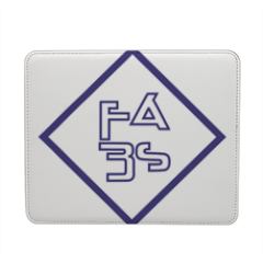 Logo FabS  Mousepad in pelle