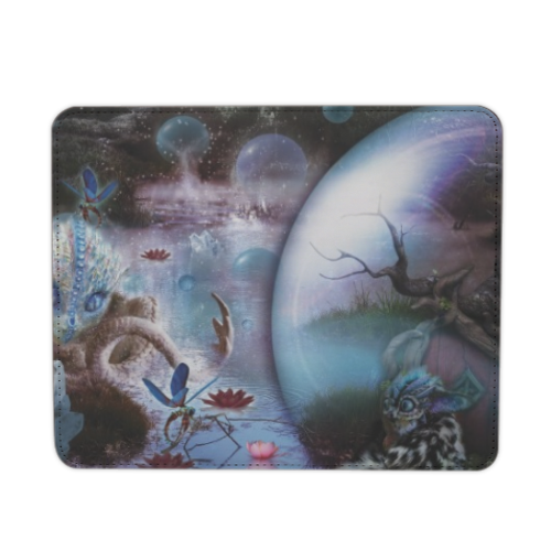 Another World Mousepad in pelle