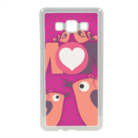Mamma I Love You - Cover in silicone Samsung A7