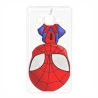 Spiderman Cover in silicone Samsung A5