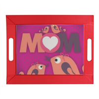 Mamma I Love You - Vassoio flessibile in pelle