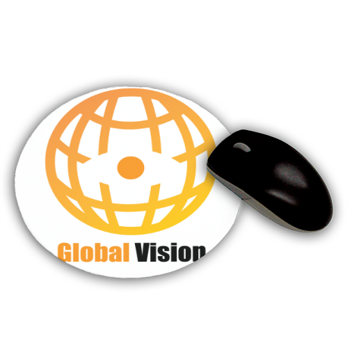Global vision Tappetino Mouse Tondo