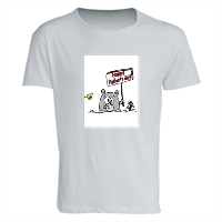 happy father's day T-shirt in cotone fiammato uomo