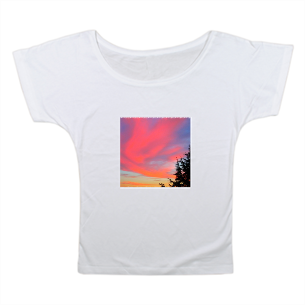 T-shirt Donna Scollo Largo