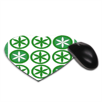 lega fans Tappetino Mouse Cuore