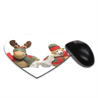 PUPAZZI Tappetino Mouse Cuore