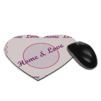 Home and Love Tappetino Mouse Cuore