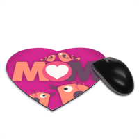 Mamma I Love You - Tappetino Mouse Cuore