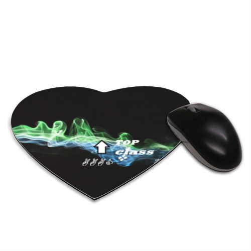 Top class 2 Tappetino Mouse Cuore