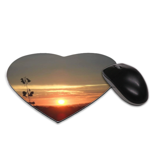 Tramonto in Toscana Tappetino Mouse Cuore