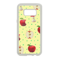 meline Cover in silicone Samsung S8