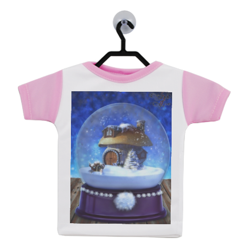 Globo di Neve Fantasy Mini T-Shirt