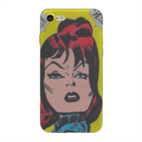 BLACK WIDOW Cover iPhone 8 trasparente