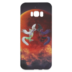 Cover Anime Opposte Cover trasparente Samsung S8 Plus