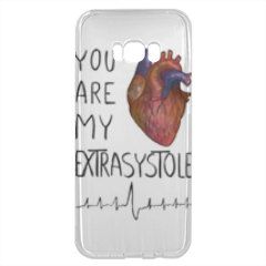 My Extrasystole Cover trasparente Samsung S8 Plus