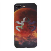 Cover Anime Opposte Cover trasparente iPhone 8 Plus